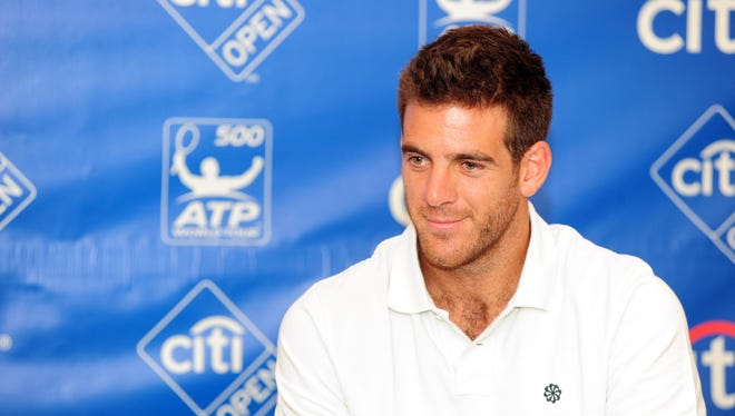 Juan Martin del Potro is the top seed this week at the Citi Open in Washington, D.C.