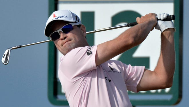 Zach Johnson tied for sixth at the British Open.