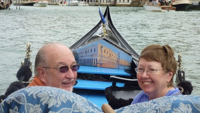 Tom and Anne Barker have traveled extensively during their retirement years.