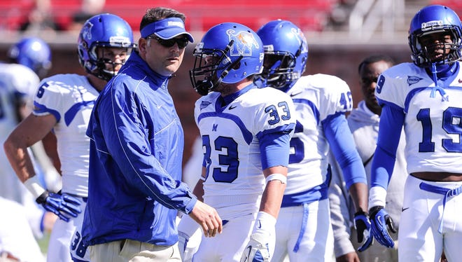 Memphis has improved under second-year coach Justin Fuente, but a sterner test awaits in the American Athletic Conference.