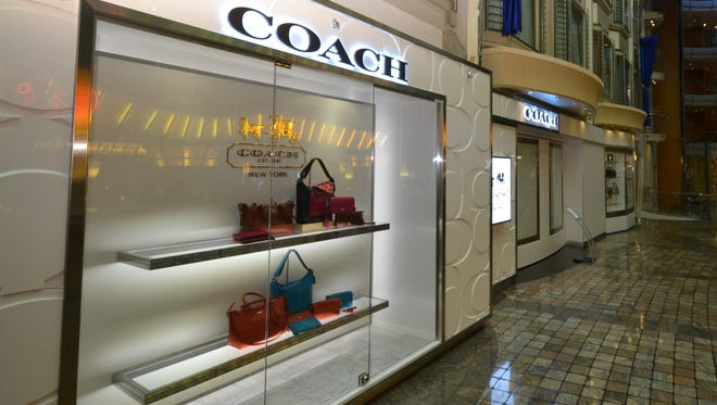 Coach profits fell 12% due to weak sales in North America.