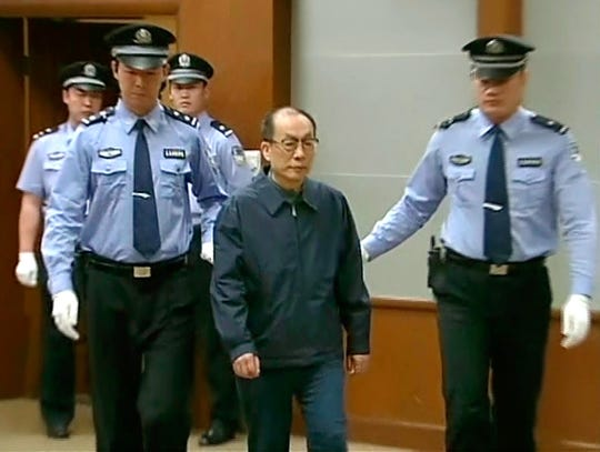 AP China Railways Corruption