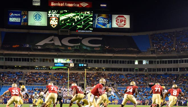 Florida State and Clemson have won the last two ACC titles.