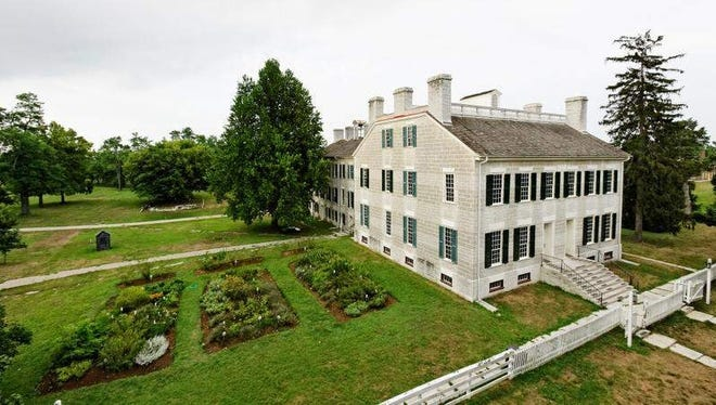 The Centre Family Dwelling at Shaker Village of Pleasant Hill once was a dormitory that housed about 80 Shakers.