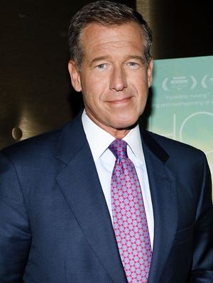 Thanks to some creative editing, Brian Williams  raps 'Good Vibrations' by Marky Mark and the Funky Bunch.