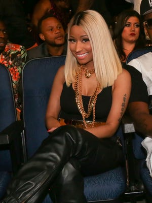 Nicki Minaj attends the 2013 BET Awards at Nokia Plaza L.A. LIVE on June 30 in Los Angeles.