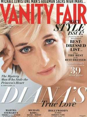Princess Diana on the September 'Vanity Fair.'