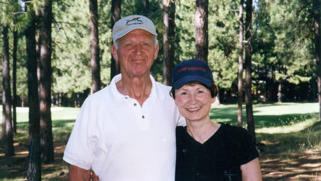 Max Millis, shown with his wife, Suzanne, after golfing in 2002, died in 2007 after he collapsed on a golf course from heart failure. He had written out a clear directive stating that he did not want advanced measures taken to revive him at the end of his life, that he preferred to die naturally, but despite Suzanne arriving on scene with the form, EMS continued to perform CPR and his wishes were unheeded, according to Suzanne Millis.