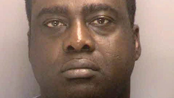Idowu Daramola, 48, of Thornwood, N.Y.,  is charged with reckless driving and using a cell phone while operating a vehicle. The shuttle bus he drove was involved in an accident that led to a lamppost killing an infant.