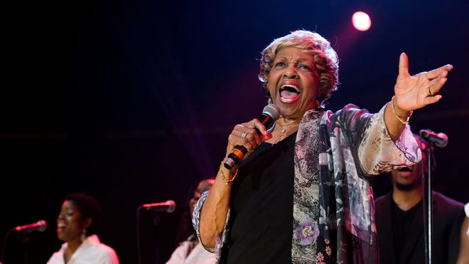 Cissy Houston performs during McDonald's Gospelfest 2013 at the Prudential Center on Saturday, May 11 in Newark.