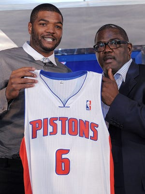Josh Smith signed with the Pistons and team President Joe Dumars this offseason.