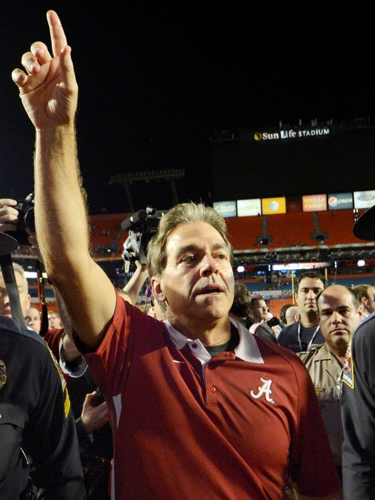 Alabama resumes its reign atop coaches poll