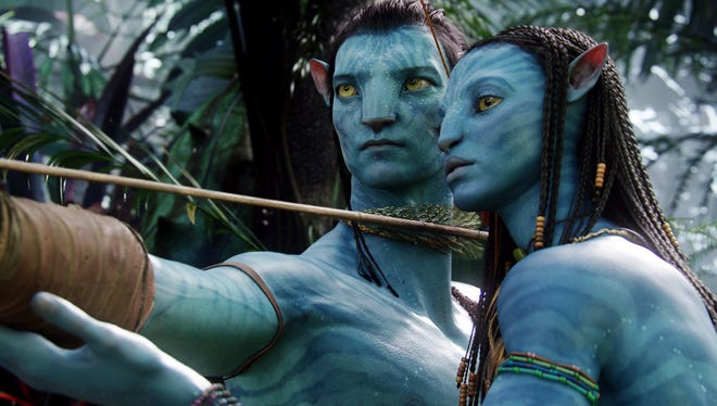 """James Cameron is working on three sequels to his 2009 hit """"Avatar,"""" which featured Sam Worthington and Zoe Saldana in performance-capture roles."""