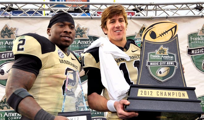 Vanderbilt must replace two key starters in Zac Stacy and Jordan Rodgers.