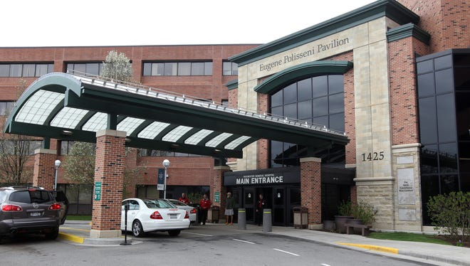 One of the entrances to Rochester General Hospital in New York