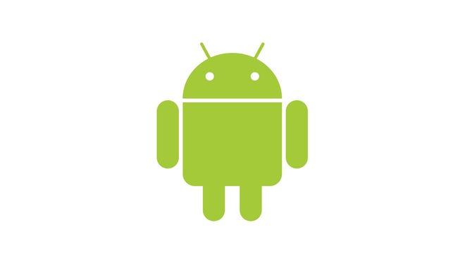 Google's Android logo.
