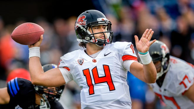 Cody Vaz will again compete with Sean Mannion for the starting job at quarterback.