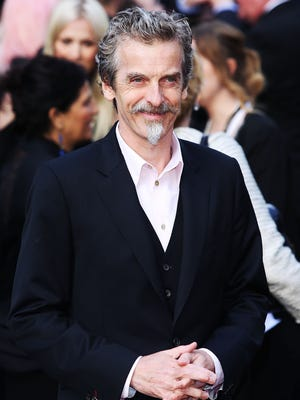 "Peter Capaldi was named the new star of ""Doctor Who"" on Sunday."