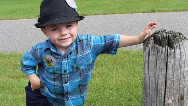 Bobby Tufts, 4, was re-elected as the mayor of Dorset, Minn.