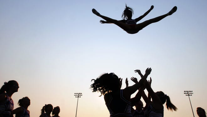 Safe Kids Worldwide report finds 1.35 million children seen in emergency rooms for sports-related injuries, including injuries from cheerleading.