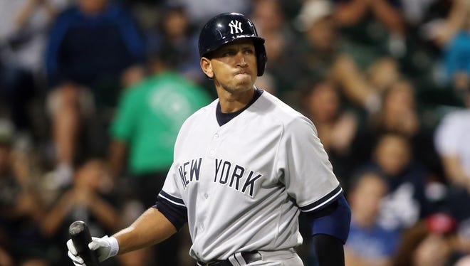 Alex Rodriguez made his season debut on Tuesday.