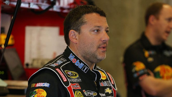 Tony Stewart was conscious and talking to responders after a four-car wreck.