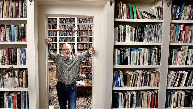Pulitzer Prize-winning author Robert Olen Butler lives in a renovated 1840s home.