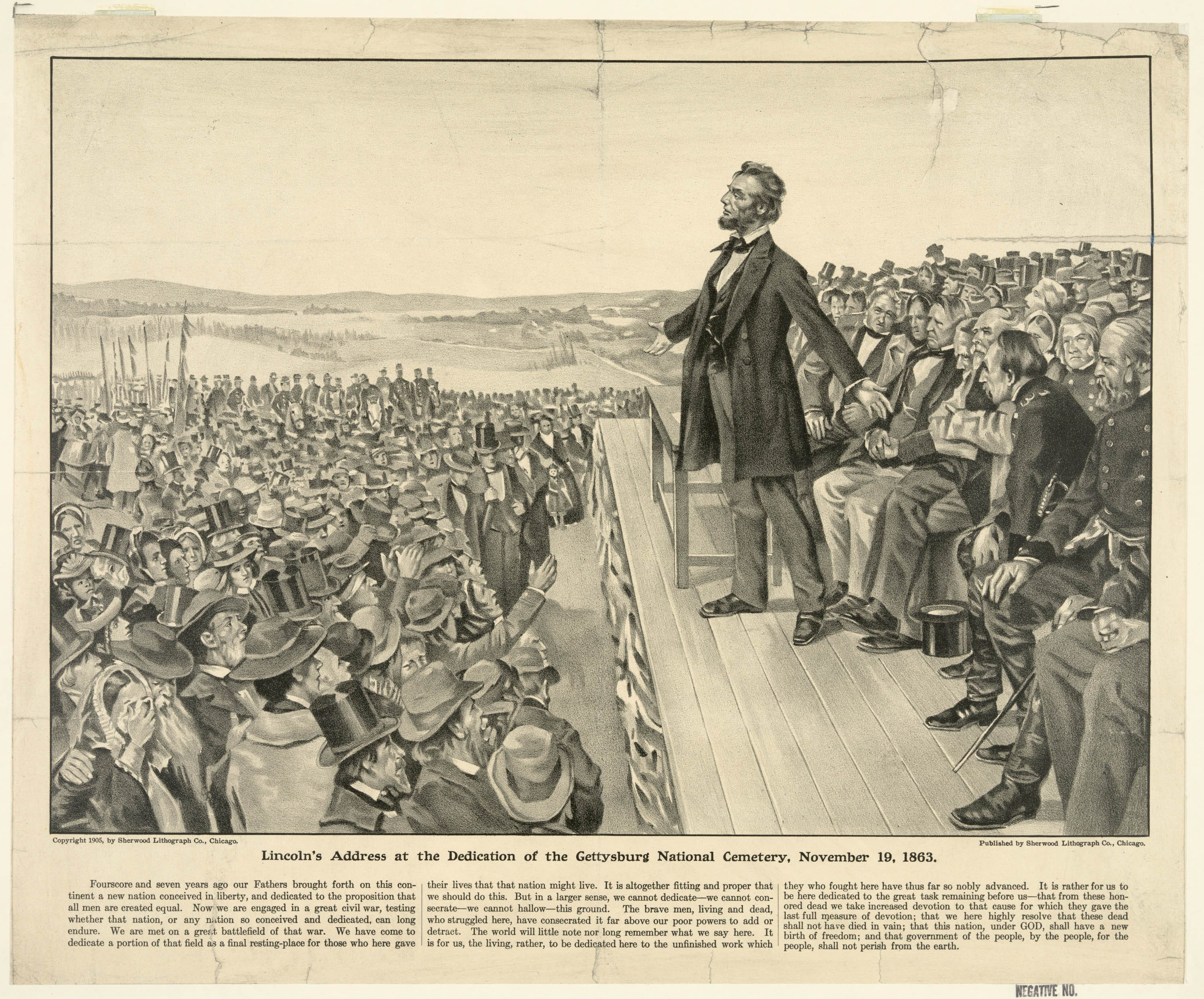 Lincolns Gettysburg Address and the Battle of Gettysburg Through Primary Sources