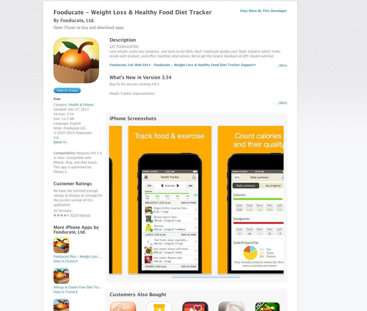 Talking Tech app spotlight: Fooducate