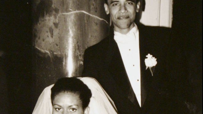 The happy couple back in 1992
