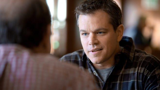 """Matt Damon in the film """"Promised Land"""""""