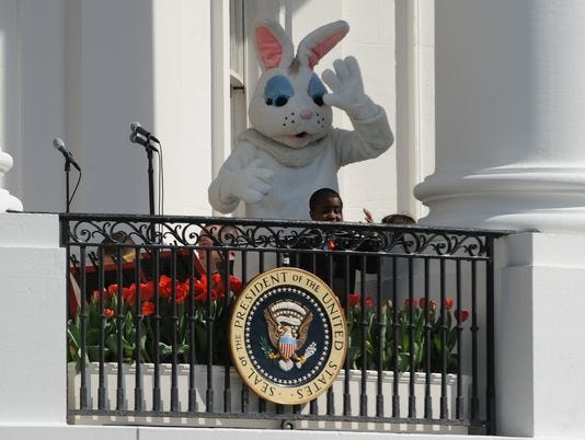 April Fools' Day from the White House