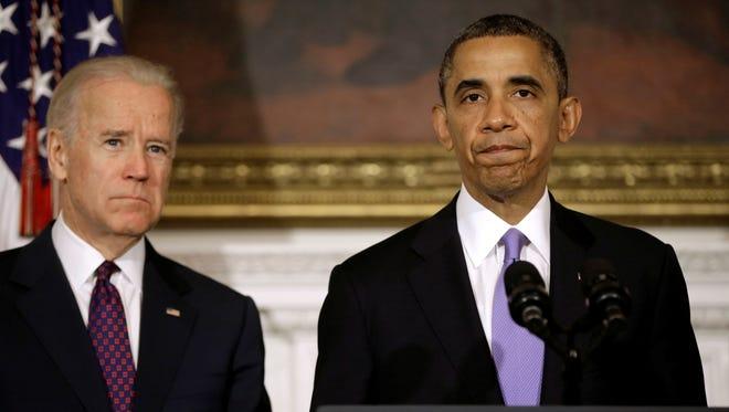 Vice President Biden and President Obama