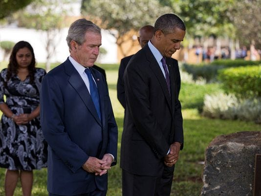3 US Presidents Visit Africa And Conduct Secret Meetings In The Same Week  1372847581000-AP-Obama-Africa-001-1307030635_4_3_rx404_c534x401
