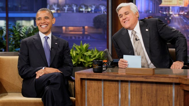 President Obama on Jay Leno's show last year.
