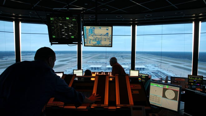 Memphis International Airport's year-old air traffic control tower is more technologically advanced than the old tower. Advances in air traffic control equipment and procedures contributed to an improved safety record in 2012.