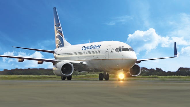 An image of a Copa Airlines Boeing 737-800.