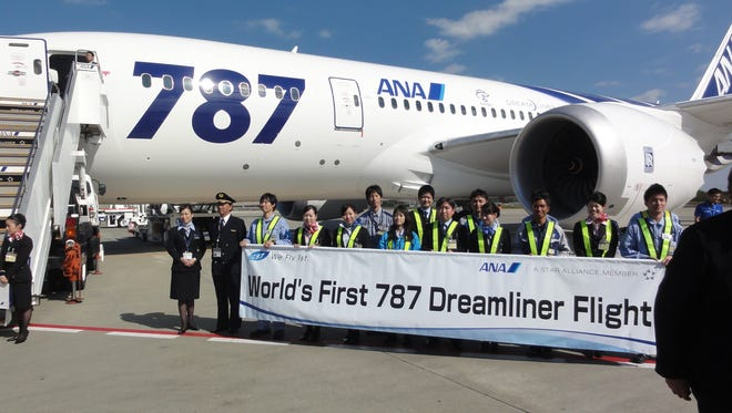 All Nippon Airways made aviation history on Oct. 26, 2011, by flying the Boeing 787 Dreamliner on its first-ever flight with paying passengers. ANA Flight 7871 departed Tokyo at 12:23 p.m. local time, landing in Hong Kong about 4 hours later.