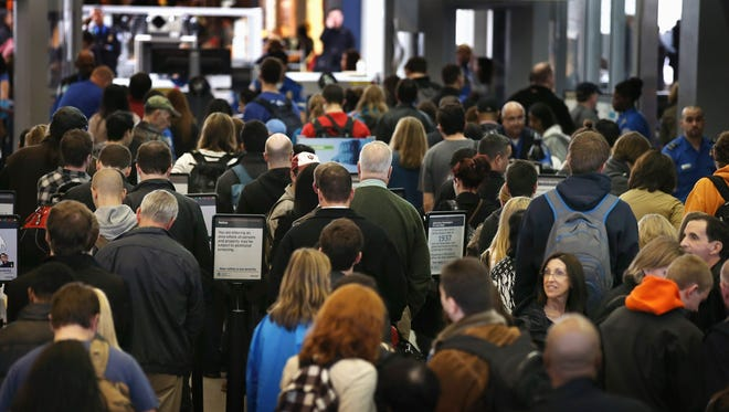 The sequester could lead to travel delays as TSA screeners and air traffic controllers may face furloughs due to budget cuts, Obama administration officials warn.