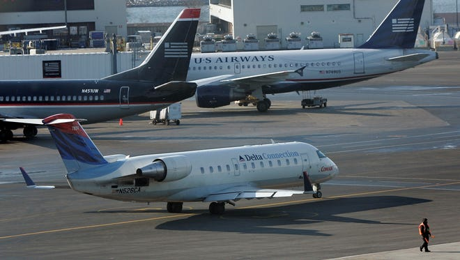 The FAA grounded planes at Boston Logan Airport after two explosions at the Boston Marathon.
