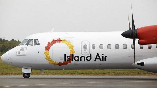 An Island Air aircraft.