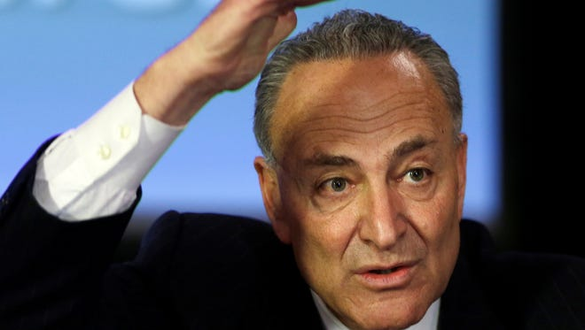 Sen. Charles Schumer, D-N.Y., is one of his party's leaders in the Senate.