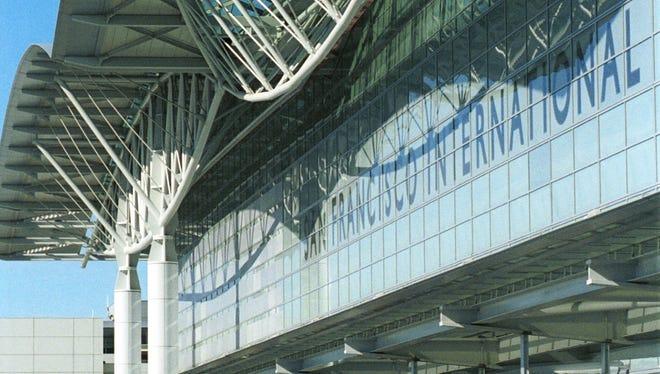 A 2007 file photo of San Francisco International Airport.