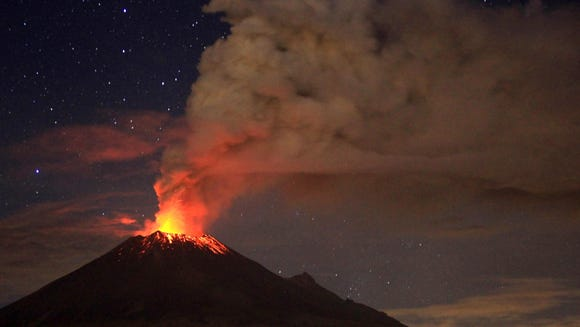 U.S. airlines cancel more flights for Mexico volcano