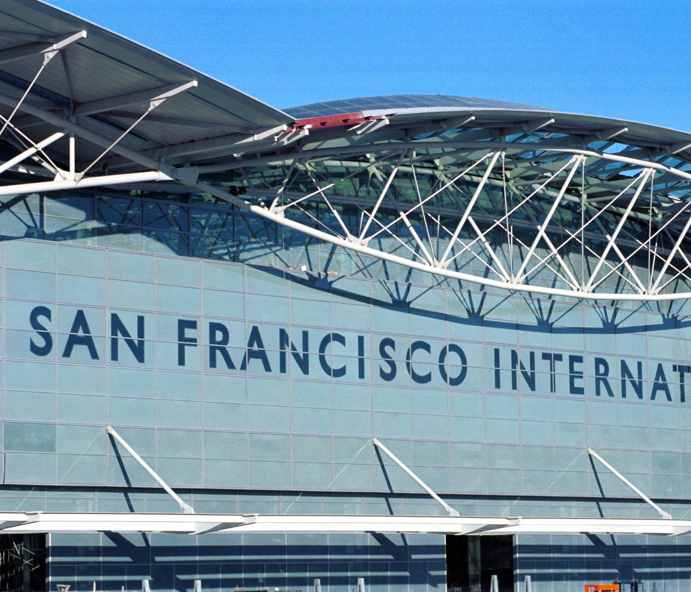 The International Terminal at San Francisco International Airport.