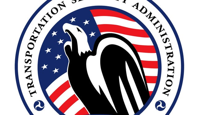 The logo for the Transportation Security Administration.