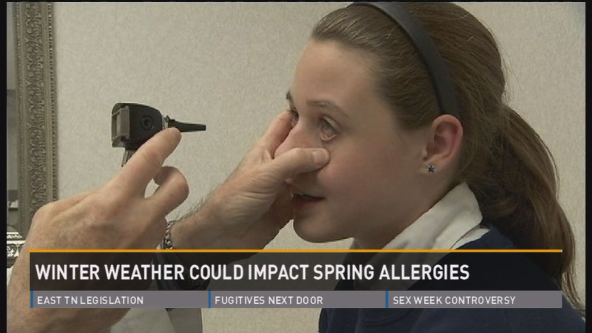 Winter weather could impact spring allergies