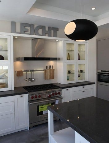 Modern Kitchens On Display At The Leicht Kitchen Design Showroom In Mount  Kisco, Feb.