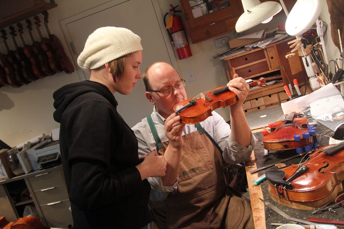 To donate or to sell that old musical instrument