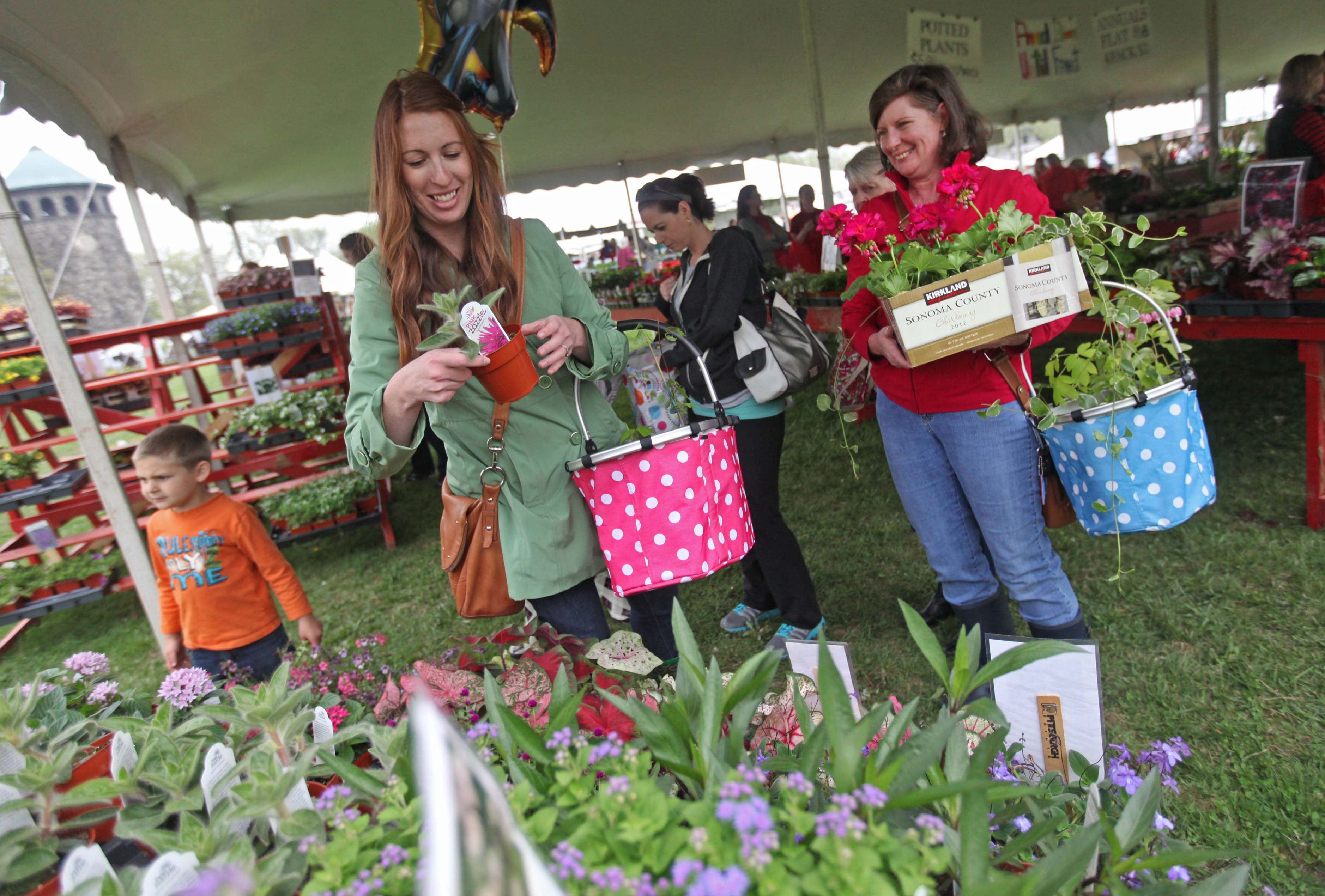 94th annual Wilmington Flower Market open